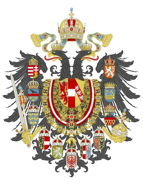 Imperial Coat of Arms of the Empire of Austria
